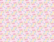 Pattern Geometric abstract Background texture pink. Pattern Geometric Background texture pink Design royalty free illustration