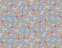 Pattern Geometric Background texture gray. Grey Design Stock Image
