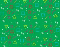 Pattern Geometric Background texture green,abstract background green. Design Stock Photography