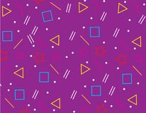 Pattern Geometric Background texture Magenta,abstract background Magenta. Design Stock Image