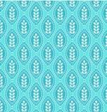 Pattern geometric blue. Pattern seamless geometric pattern in blue Royalty Free Stock Image