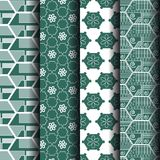 Pattern Geometric Pentagon Stock Images