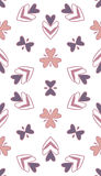 Pattern geometric seamless. Pattern  geometric seamless violet pale Stock Image