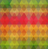 Pattern of geometric shapes. Geometric background. Royalty Free Stock Image