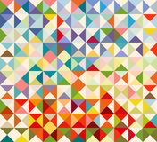 Pattern of geometric shapes,hipster background Royalty Free Stock Images