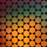 Pattern of geometric shapes.Texture with flow of spectrum effect Royalty Free Stock Photography
