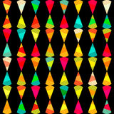 Pattern of geometric shapes.Texture with flow of spectrum effect. Geometric background. Copy that square to the side, the resultin Stock Photo