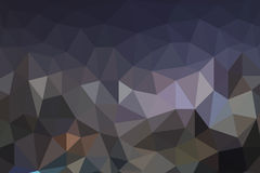 Pattern of geometric shapes. (triangle abstact background stock illustration
