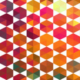 Pattern of geometric shapes. Royalty Free Stock Photography