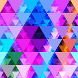 Pattern of geometric shapes. Royalty Free Stock Image
