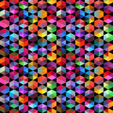Pattern of geometric shapes. Triangles.Geometric background. Royalty Free Stock Images
