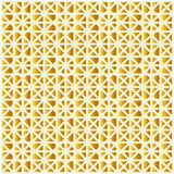 Pattern of geometric shapes. Vector background of golden polygon Stock Photos