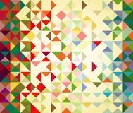 Pattern of geometric shapes Royalty Free Stock Photos