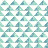 Pattern geometric with triangle Stock Image