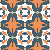 Pattern geometric. Pattern vector blue  national geometric Royalty Free Stock Image