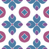 Pattern geometric. Pattern vector blue  national geometric Stock Photography