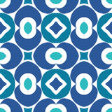 Pattern geometric. Pattern vector blue  national geometric Stock Photos