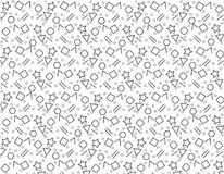 Pattern Geometric white black Background texture,abstract Design. Pattern Geometric white Background texture Design Stock Photo