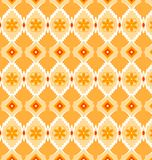 Pattern geometric yellow. Pattern seamless geometric pattern yellow Stock Images