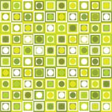 Pattern with geometrical shapes Royalty Free Stock Images