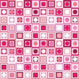 Pattern with geometrical shapes Stock Photo