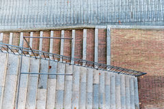 Pattern and geometry stairs Royalty Free Stock Photography