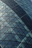 Pattern Gherkin. This is an image of a building called the Gherkin. It is noted for its patterns Stock Photography