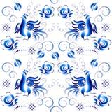 Pattern in Ghzel style Stock Photo