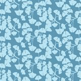 Pattern of ginkgo Stock Images