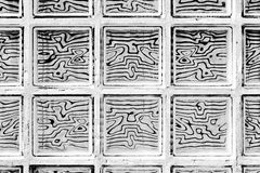 Pattern of glass block Stock Images