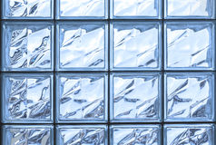 Pattern of glass block wall Royalty Free Stock Photos