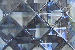 Pattern of glass block wall Stock Images