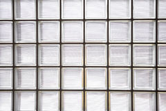 Pattern of glass block wall Royalty Free Stock Images