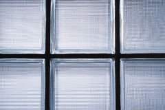 Pattern of Glass Block Wall Decoration Stock Photos