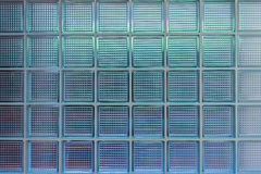 Pattern of glass wall Royalty Free Stock Images