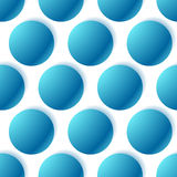 Pattern with glowing circles. Dotted pattern. seamlessly repeat Stock Images