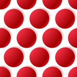 Pattern with glowing circles. Dotted pattern. seamlessly repeat. Able - Royalty free vector illustration Stock Photos