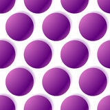 Pattern with glowing circles. Dotted pattern. seamlessly repeat Stock Photography