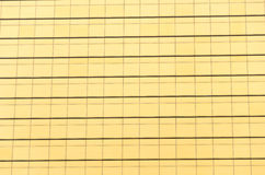 Pattern of gold building Royalty Free Stock Image