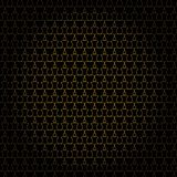 Pattern gold line Stock Images