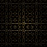 Pattern gold line Stock Photography