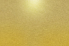 Pattern of gold metal background Stock Photo