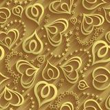 Pattern gold Stock Photo