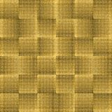 Pattern with Golden Mosaic Stock Photography