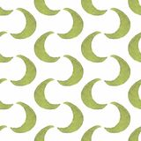 Pattern of goloden crescent. Seamless pattern in Stock Photography