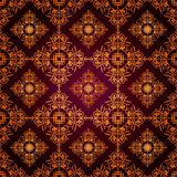 Pattern gothic 10-2 Royalty Free Stock Image