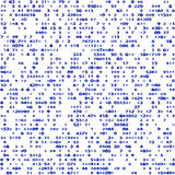 Pattern of goups numbers Stock Photos