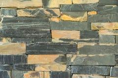 Pattern of granite stone wall surface Stock Image