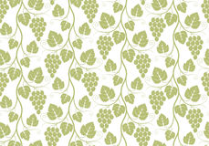 Pattern. Grape Royalty Free Stock Images