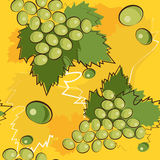 Pattern of grapes Royalty Free Stock Images